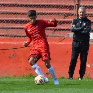 Sebastián Ramírez se entrenó con la primera