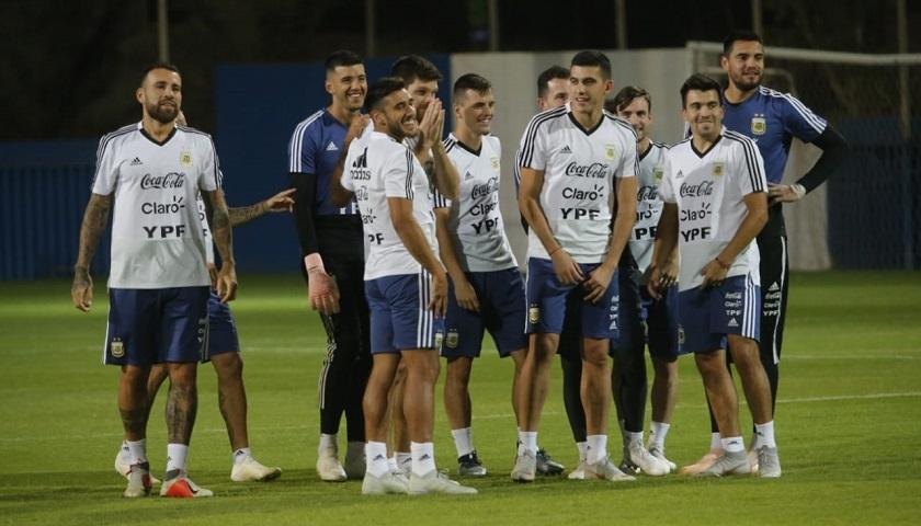 La Selección se entrenó pensando en Brasil