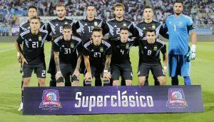 La Selección Argentina venció 4-0 a Irak