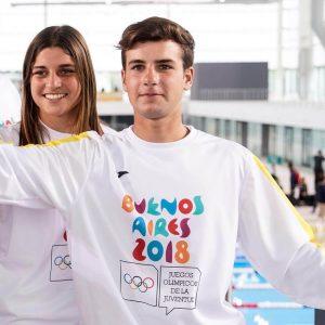 Desde el sábado cinco sampedrinos participan de los Juegos Olímpicos de la Juventud