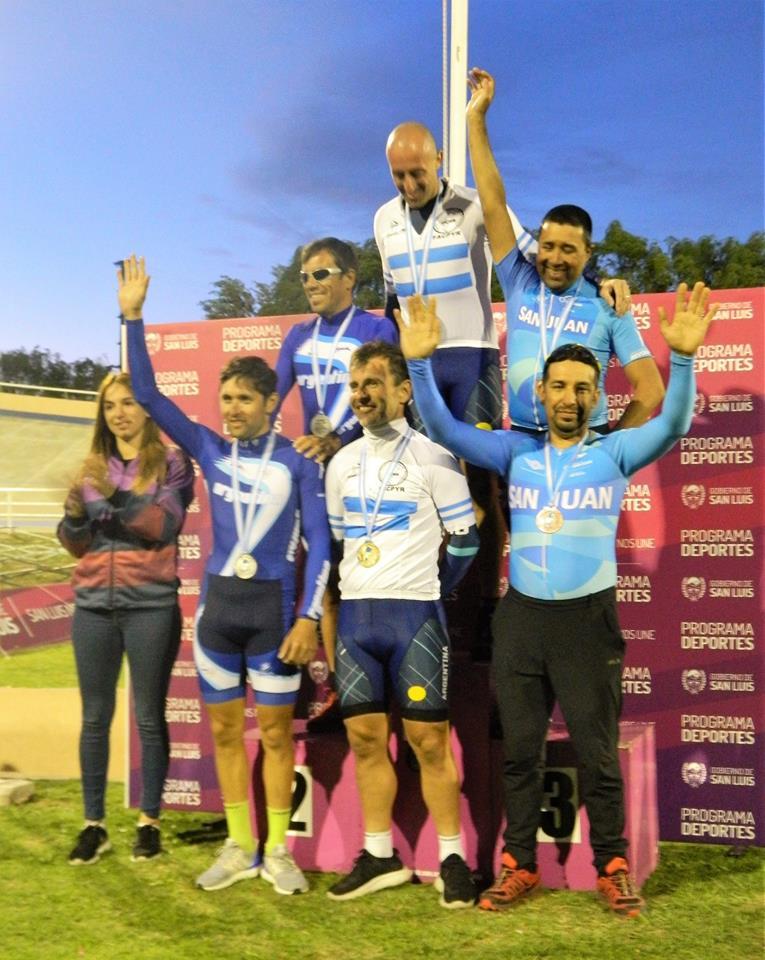 Culminó en el Velódromode San Luis el campeonato Argentino de Pista, Elite, Sub 23, Damas y Varones