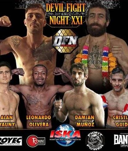 Damián Muñoz combate el domingo