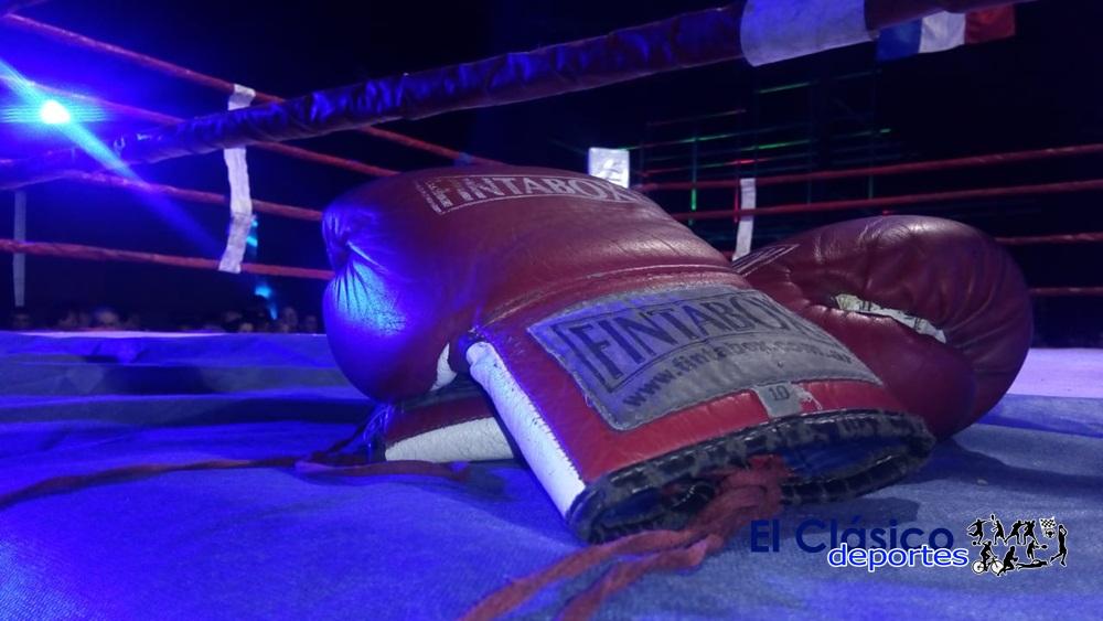 El sábado festival de boxeo en Talense de Río Tala