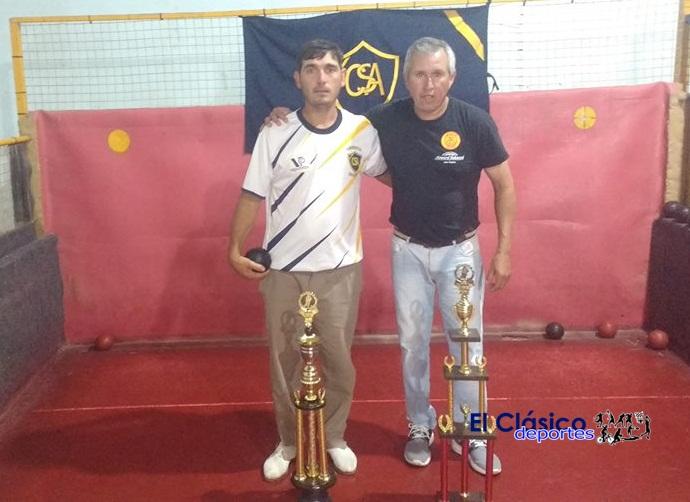 Marsico ganó la Copa San Pedro de Bochas