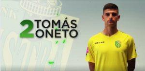 Tomás Oneto es títular en el fútbol de Croacia