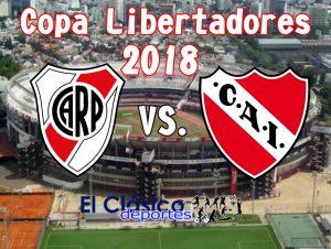 Noche de Copa Libertadores: River-Independiente y Gremio Atlético Tucumán