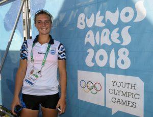La primera medalla en los Juegos Olímpicos de la Juventud de la mano de una nicoleña