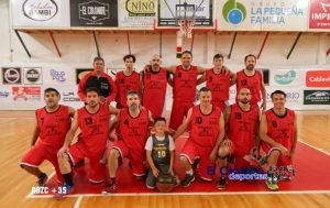 El equipo de +35 de la ABZC se metió en la ronda final en Junín con tres sampedrinos