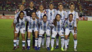 Argentina clasificó al mundial femenino