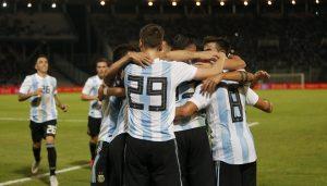 Argentina derrotó a México por 2 a 0