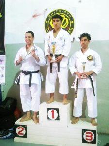Varios podios para los atletas de la Asoc. Sampedrina de Karate