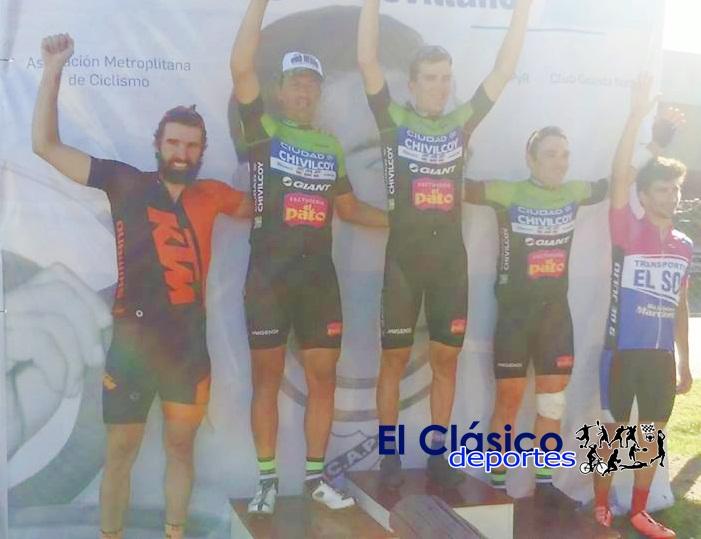En el Gran Premio 'Miguel Sevillano' lo coparon los del equipo Ciudad de Chivilcoy