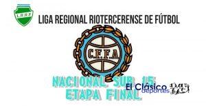 La etapa final del Nacional Sub 15 se jugará en Río Tercero