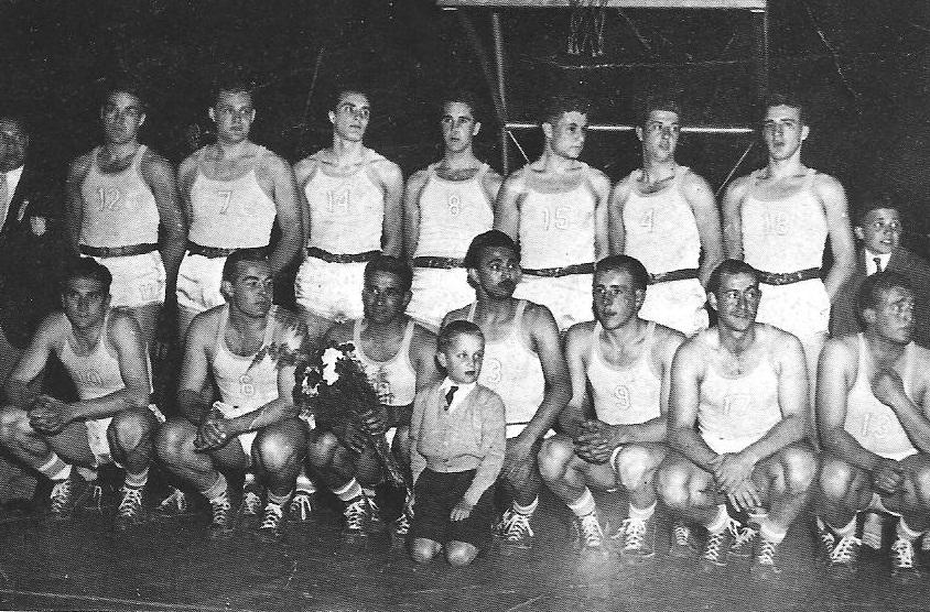 En el recuerdo: Argentina campeón mundial de básquet en 1950