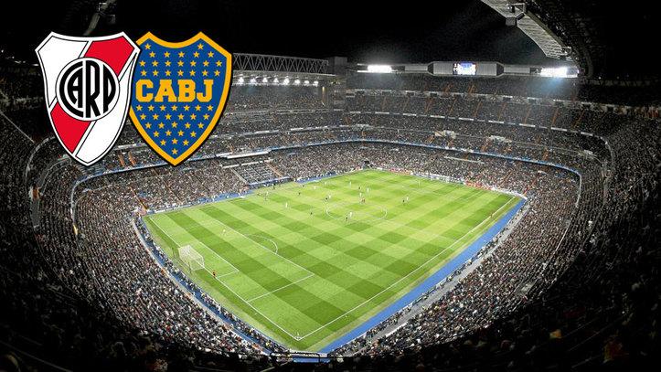 La final River-Boca se jugará en el estadio Santiago Bernabéu