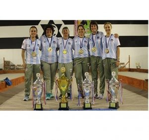 En Colonia Valdense, Uruguay, el femenino de Bochas campeón Panamericano