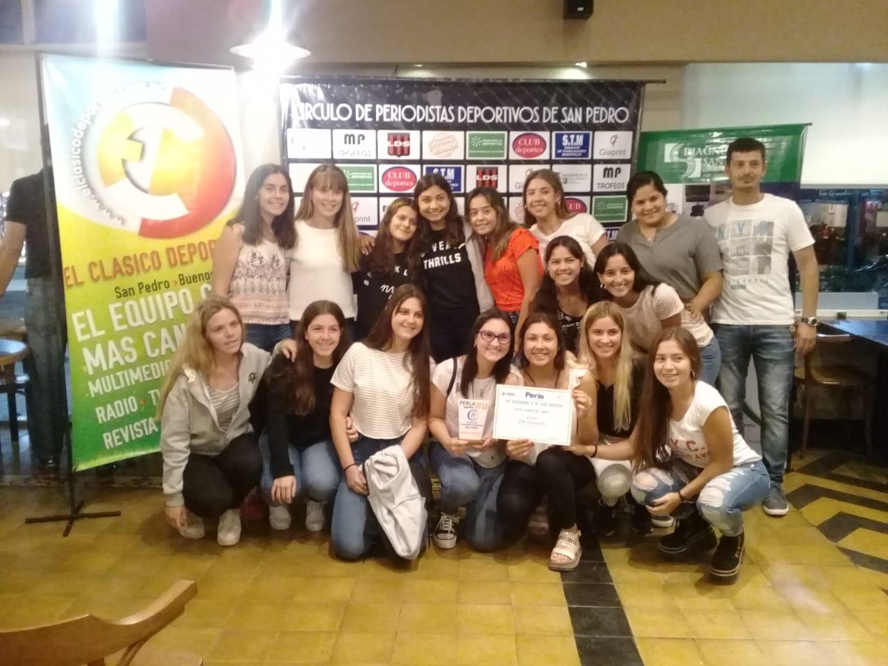 El Círculo de Periodistas Deportivos reconoció la labor de deportistas