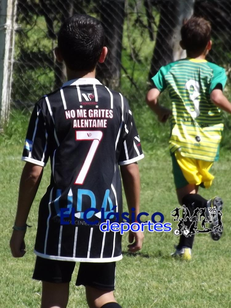Baby fútbol jugó octavos de final