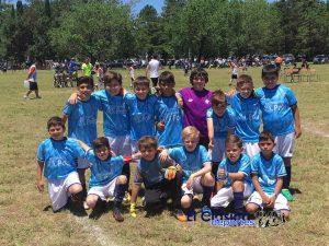 Varios equipos de San Pedro jugaron el torneo infantil en San Nicolás