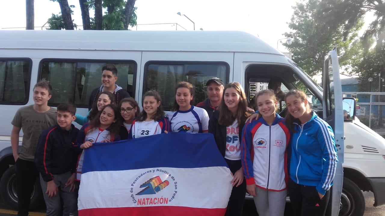 27 nadadores participan hasta el domingo en el campeonato Provincial de Miramar