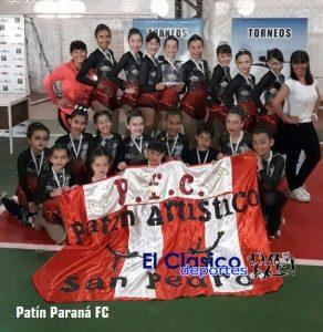 Patín Paraná nuevamente campeón anual