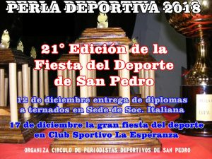 Perla Deportiva 2018: Se acerca la fiesta del deporte