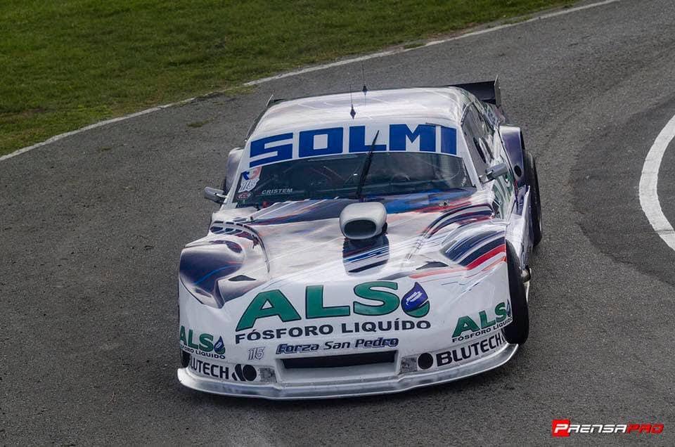 Solmi fue quinto en el circuito platense