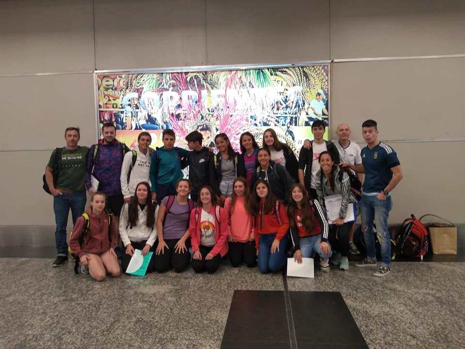 Otro selectivo de FANNBA viajó a Brasil con tres sampedrinos