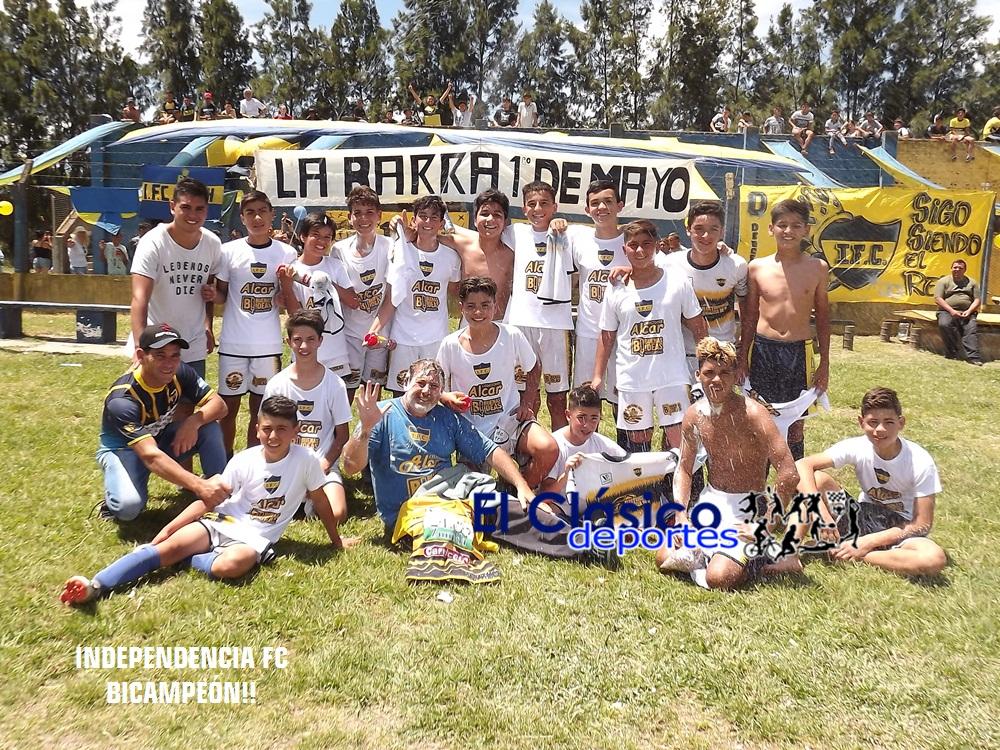 Independencia FC es Bicampeón de quinta división