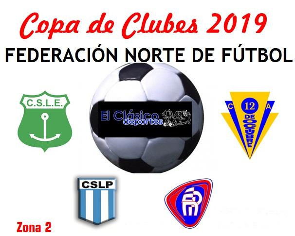 La Copa de Clubes tendrá 27 equipos. La Esperanza y Las Palmeras en la misma zona