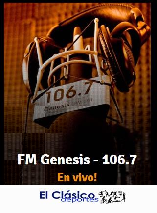 La Copa de Clubes también se vive por FM Génesis