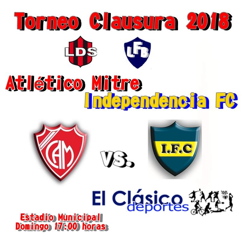 Mitre ante Independencia por el pase a la final del Torneo Clausura
