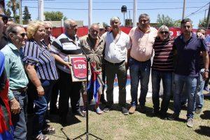 Fundición FC de Baradero inauguró su cancha de fútbol