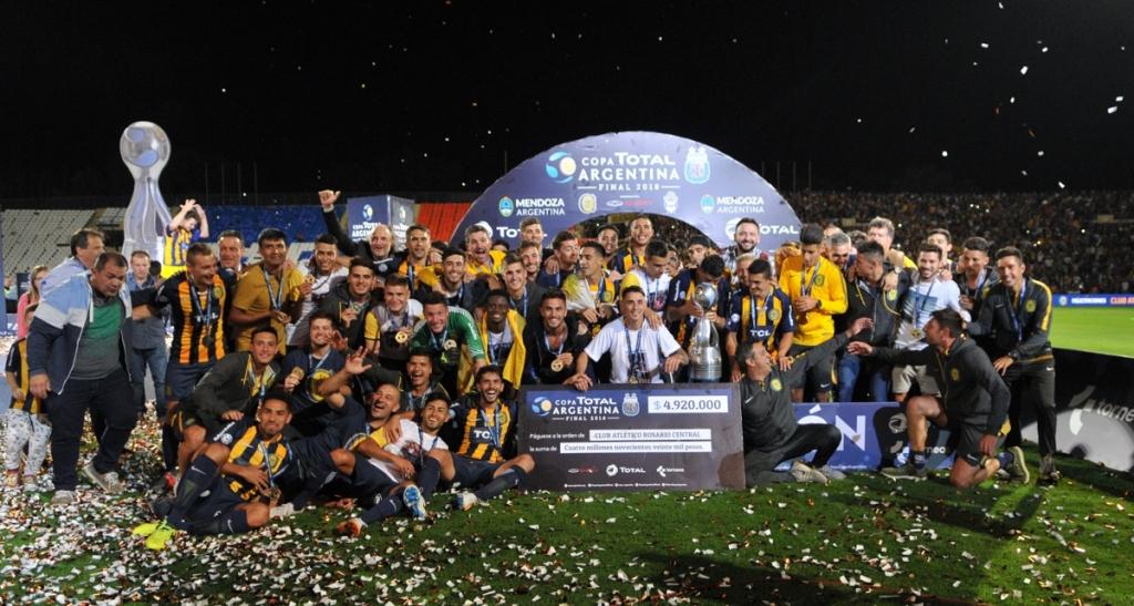 Rosario Central es el campeón de la Copa Total Argentina 2018
