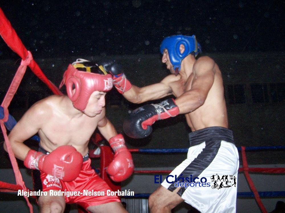 Atractivo festival de boxeo en Santa Lucía