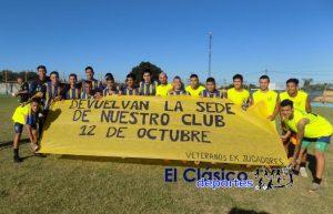 Copa de Clubes: 12 de Octubre le ganó a Las Palmeras. Será rival de La Esperanza el próximo fin de semana