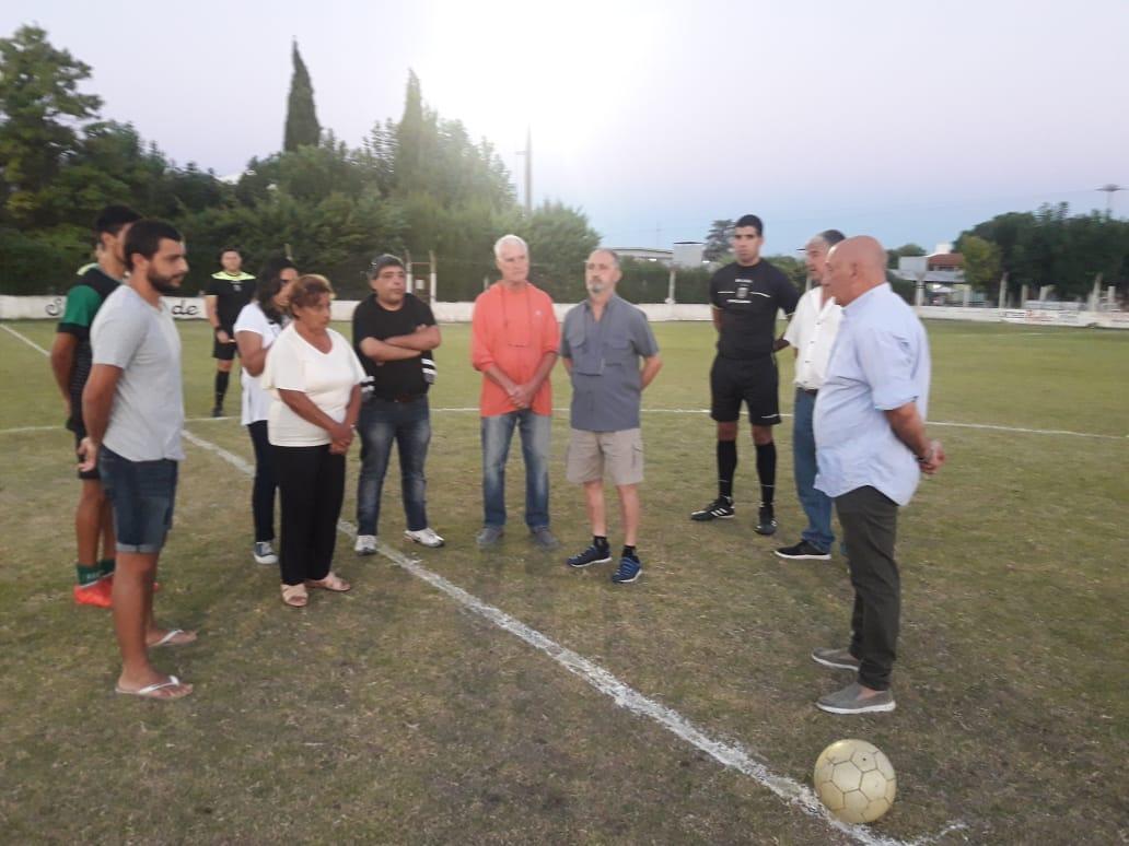Puntapié inicial para el Torneo Preparación «Gilberto Seery»