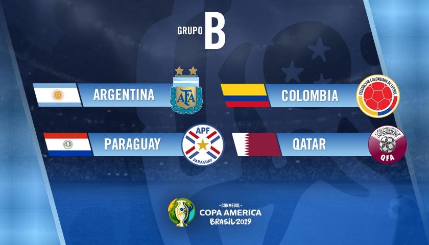 Copa América: Argentina en el grupo B