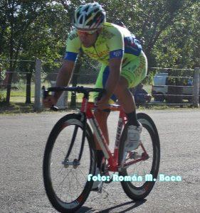 Ciclismo en San Pedro: El pedalista local Cristian Monzón el más rápido en la prueba central