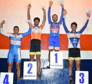 Ciclismo: Iván Ruiz brilló en la noche nicoleña