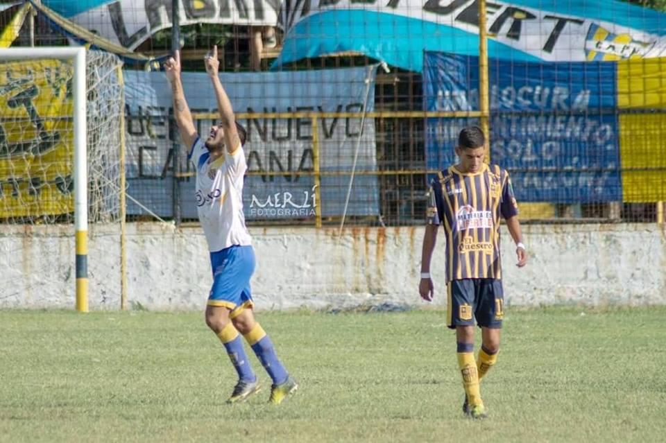 Gol de Nazareno Gómez en Puerto Nuevo