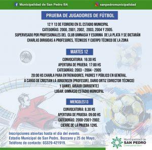 Gimnasia y Esgrima La Plata realizará prueba de jugadores en el Estadio Municipal