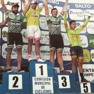 "Ciclismo: Agustín Basualdo fue quinto en la ""Vuelta a Salto"""