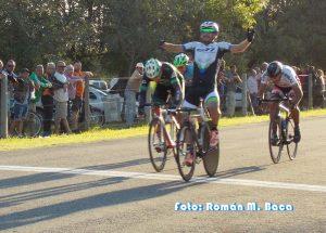 Ciclismo: Nuevo triunfo de Manzo en el Panorámico