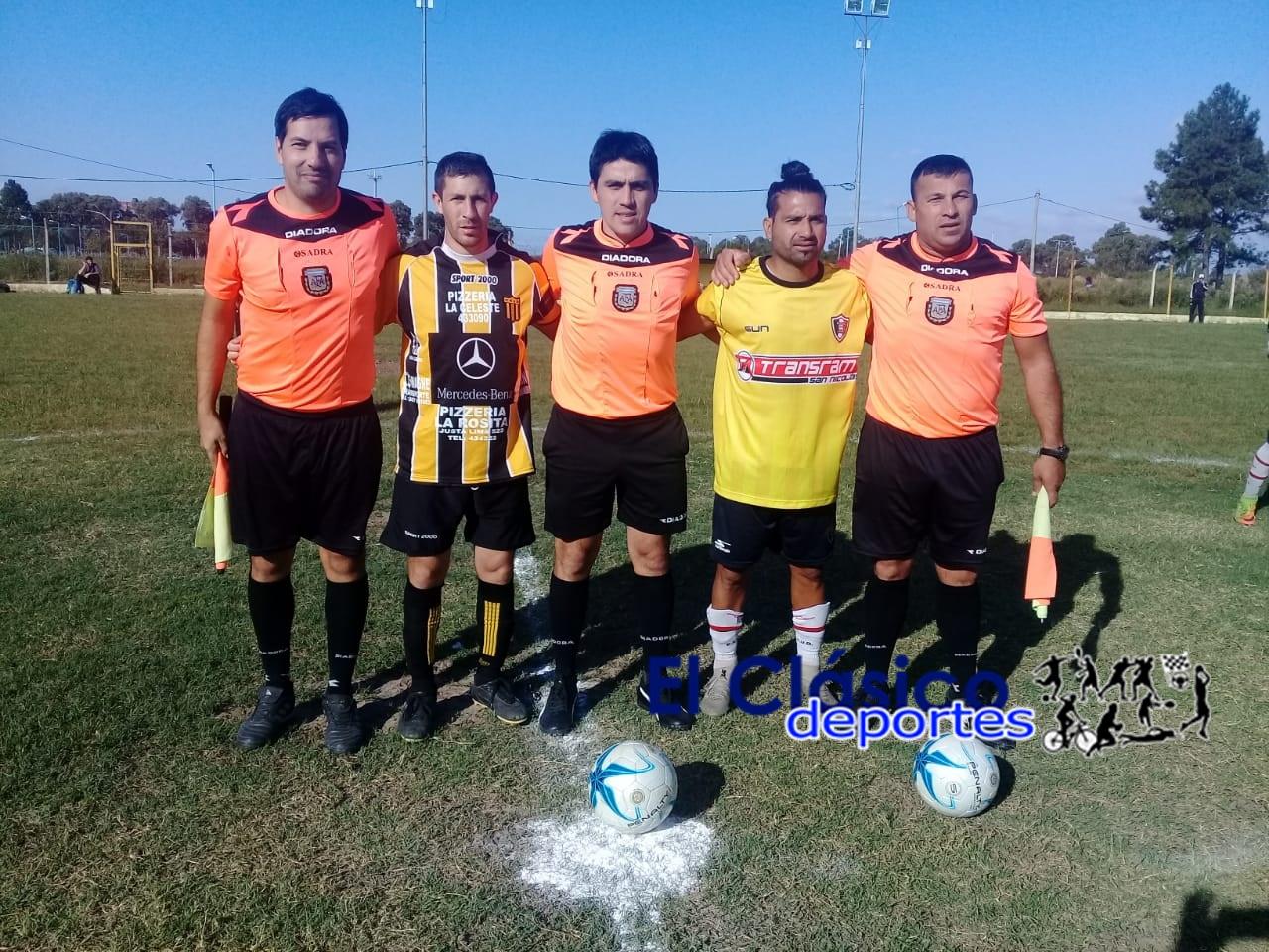 Torneo Regional: Sarmiento y Gral. Rojo igualaron en Zárate