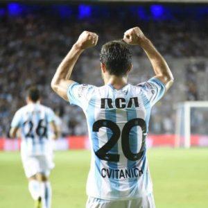 Superliga: Racing derrotó a Estudiantes con gol de Cvitanich