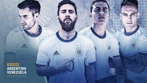 Con el retorno de Messi, Argentina ante Venezuela