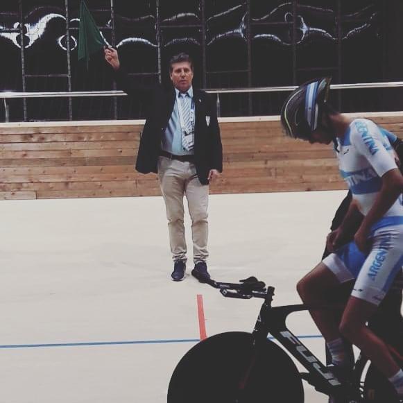 Dante Baca en la 76° edición de la Vuelta de Uruguay