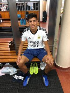 Sebastián Ramírez se entrenó con el Seleccionado Sub 20