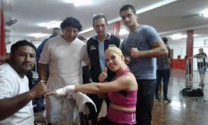 Boxeo: Combatió la sampedrina Brenda Pérez en la velada de TyC Sports